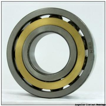 25 mm x 62 mm x 17 mm  Permco W58-40 Angular Contact Bearings