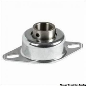 0.7500 in x 2.8125 in x 3.5600 in  Dodge LFSC012NL Flange-Mount Ball Bearing