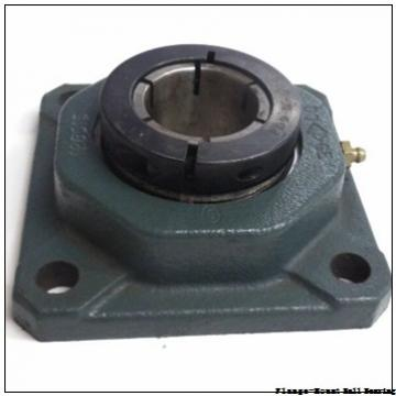 1.1875 in x 3.5600 in x 3.3100 in  Dodge F2BSL103 Flange-Mount Ball Bearing