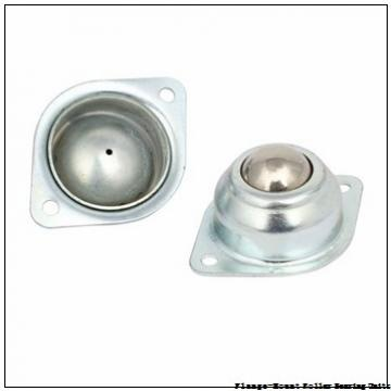 2-15/16 in x 6.0156 in x 7.7500 in  Rexnord ZFS6215S Flange-Mount Roller Bearing Units